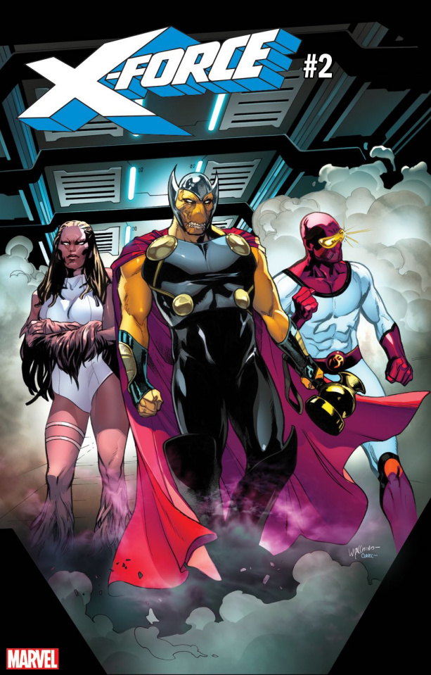 X-Force #2 (Lupacchino GotG Cover)