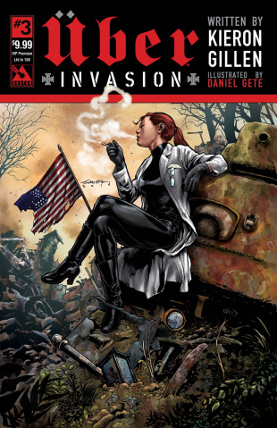 Über: Invasion #3 (VIP Premium Cover)
