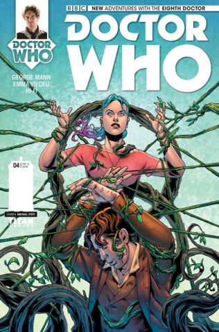 Doctor Who: New Adventures with the Eighth Doctor #4 (Stott Cover)