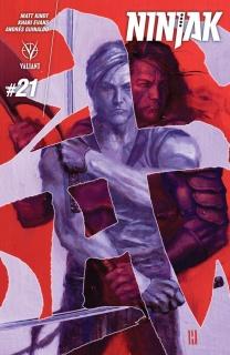 Ninjak #21 (Choi Cover)