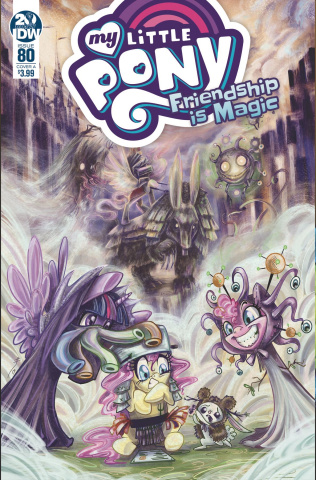 My Little Pony: Friendship Is Magic #80 (Sherron Cover)