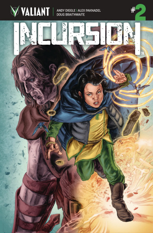 Incursion #2 (Braithwaite Cover)