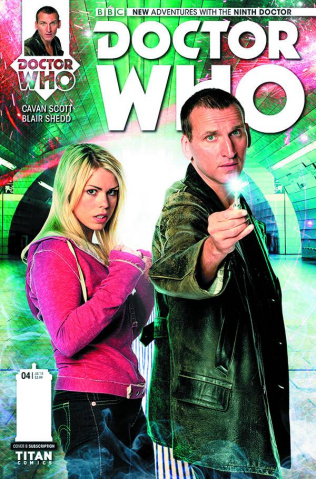 Doctor Who: New Adventures with the Ninth Doctor #4 (Subscription Cover)