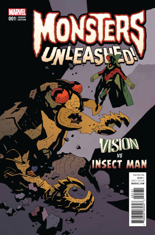 Monsters Unleashed! #1 (Mignola Classic Monsters Cover)