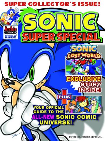 Sonic: Super Special Magazine #9