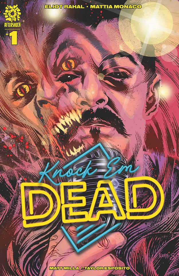 Knock 'Em Dead #1 (15 Copy Tony Harris Cover)