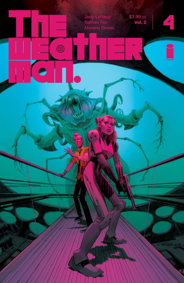 The Weatherman #4 (Robinson Cover)