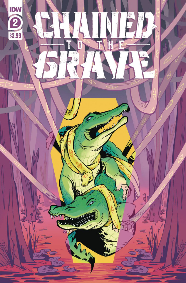 Chained to the Grave #2 (Sherron Cover)