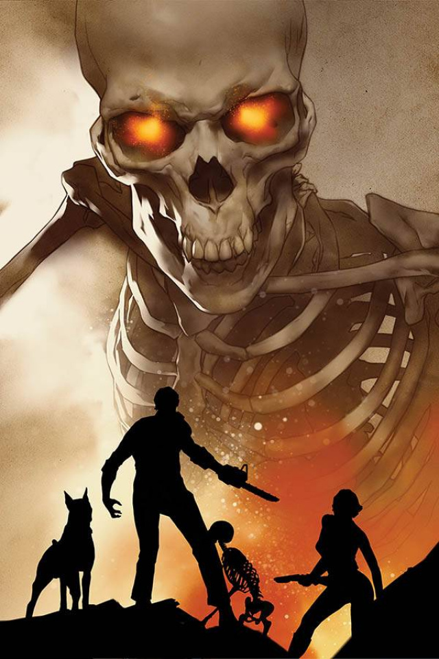 Death to the Army of Darkness #4 (Oliver Virgin Cover)
