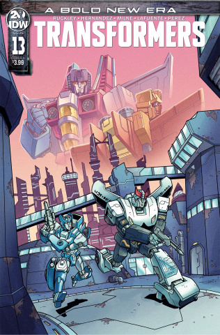 The Transformers #13 (Chan Cover)