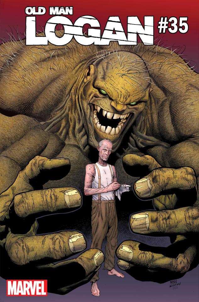Old Man Logan #35 (McNiven Hulk Cover)