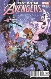 New Avengers #2 (Sienkiewicz Cover)