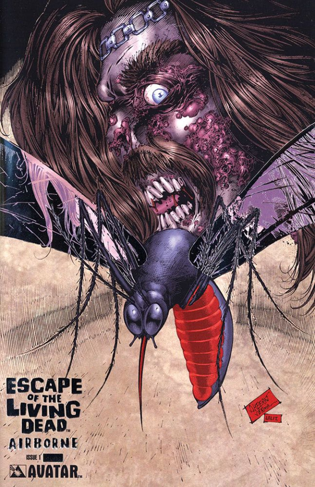 Escape of the Living Dead: Airborne #1 (Platinum Foil Cover)