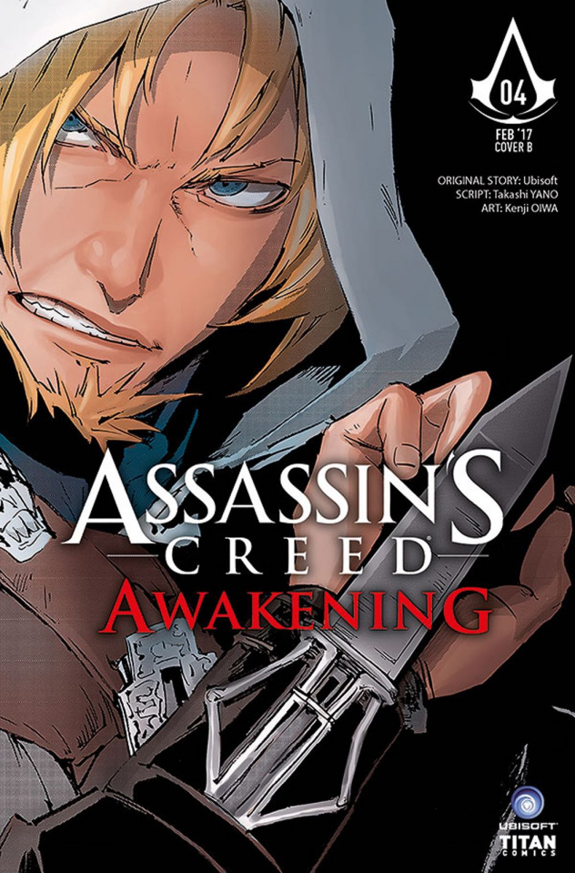 Assassin's Creed: Awakening #4 (Kenji Cover)