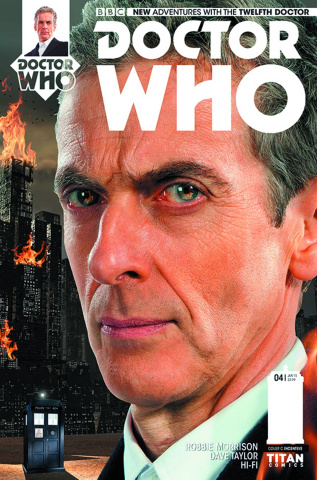 Doctor Who: New Adventures with the Twelfth Doctor #4 (10 Copy Cover)