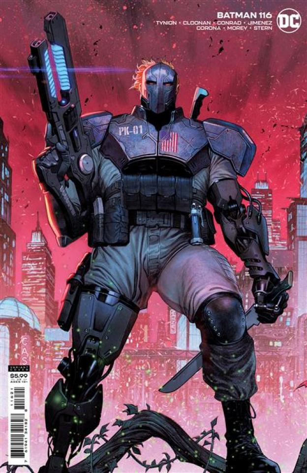 Batman #116 (Jorge Molina Card Stock Cover)