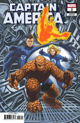 Captain America #2 (Charest Return of Fantastic Four Cover)