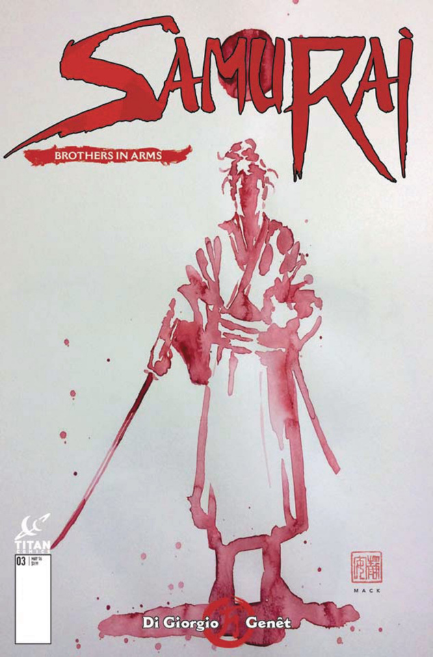 Samurai: Brothers in Arms #1 (Mack Cover)