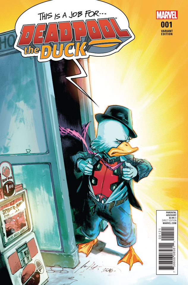 Deadpool the Duck #1 (Albuquerque Cover)