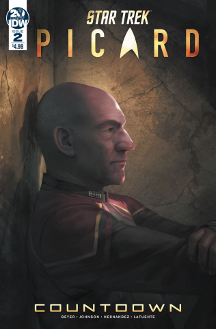 Star Trek: Picard #2 (Pitre-Durocher Cover)