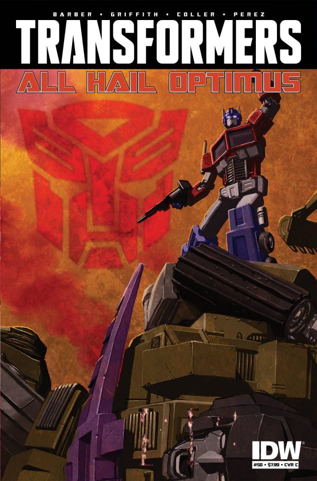 The Transformers #50 (10 Copy Cover)