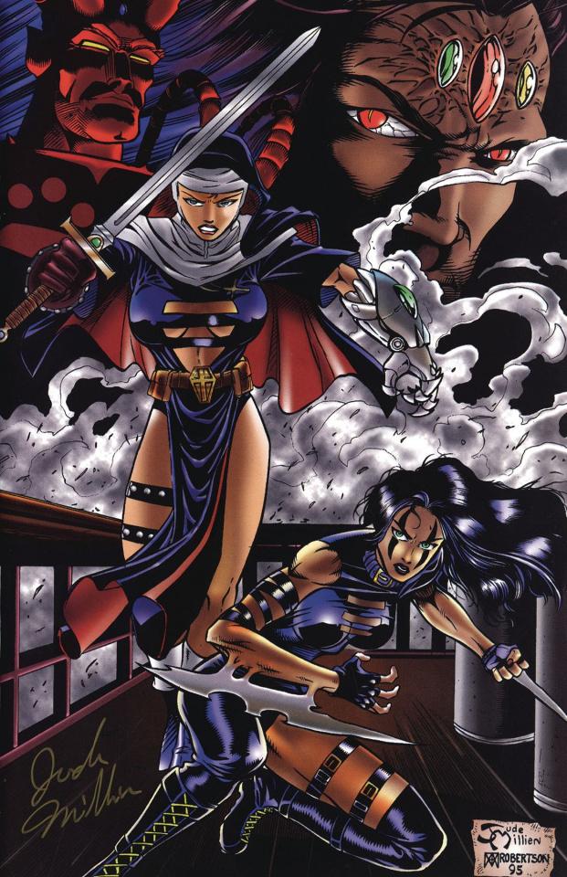 Razor #1 (Warrior Nun Commemorative Signed Cover)