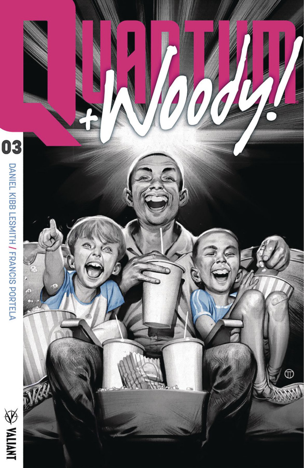 Quantum & Woody #3 (Tedesco Cover)