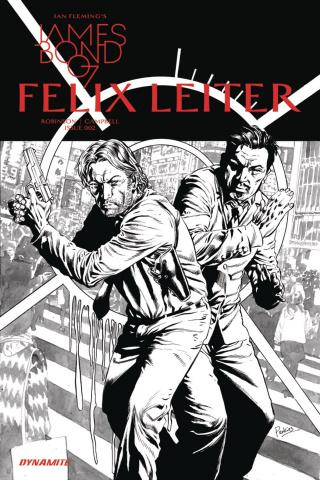 James Bond: Felix Leiter #2 (10 Copy B&W Cover)