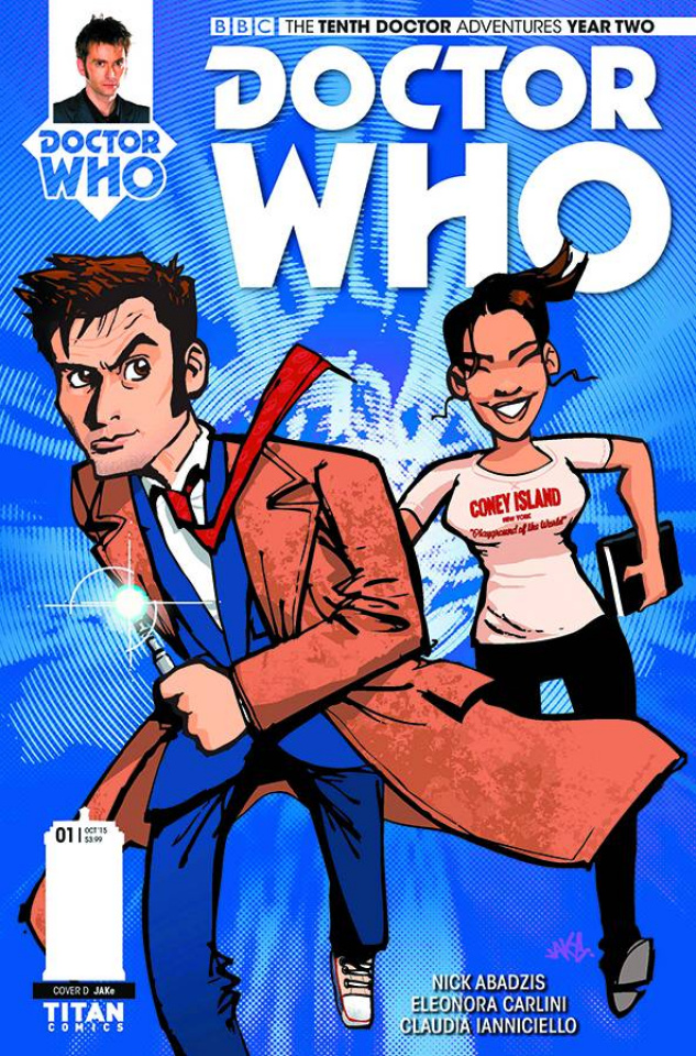 Doctor Who: New Adventures with the Tenth Doctor, Year Two #1 (Jake Cover)