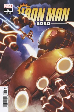Iron Man 2020 #5 (Suayan Cover)