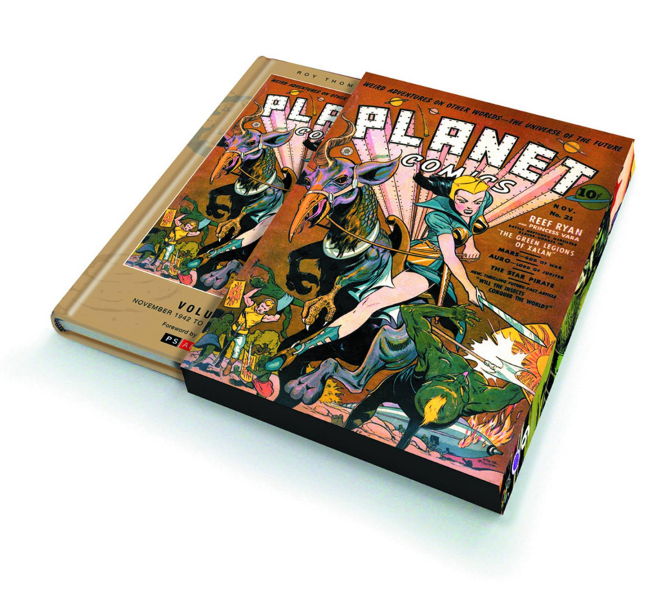 Planet Comics Vol. 6: Nov. '42 (Slipcase Edition)
