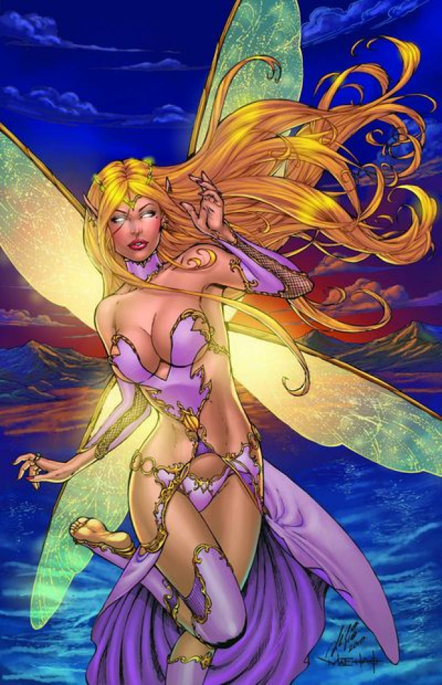 Grimm Fairy Tales Presents: Neverland #1