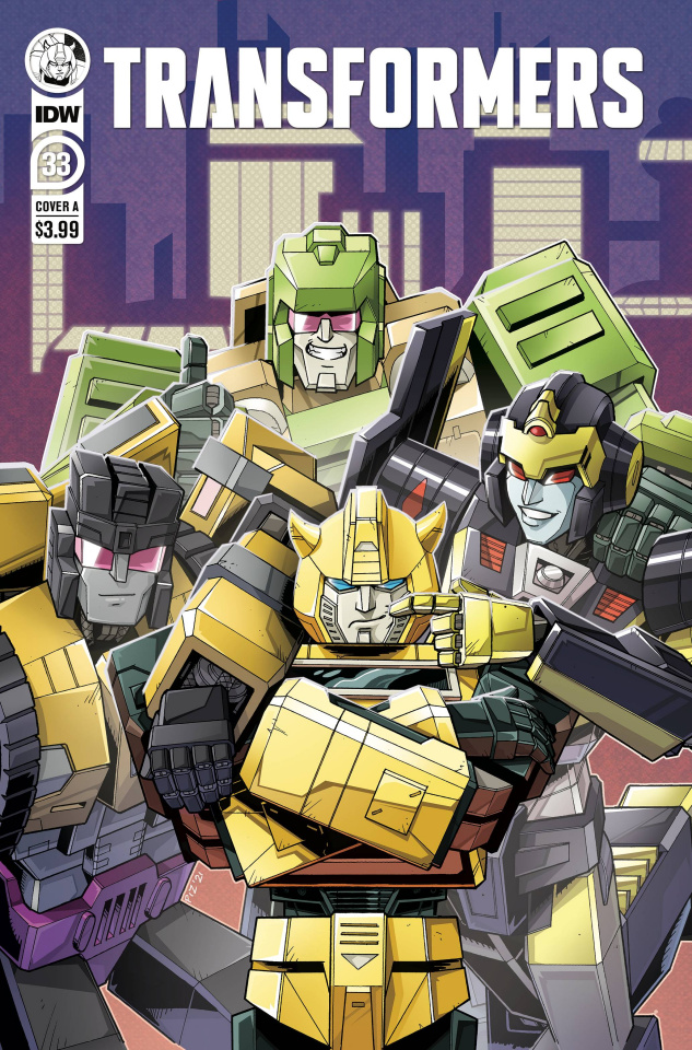 The Transformers #33 (Ed Pierre Cover)