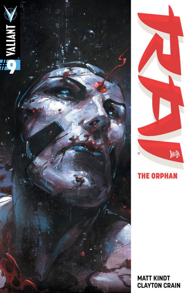 Rai #9 (Crain Cover)