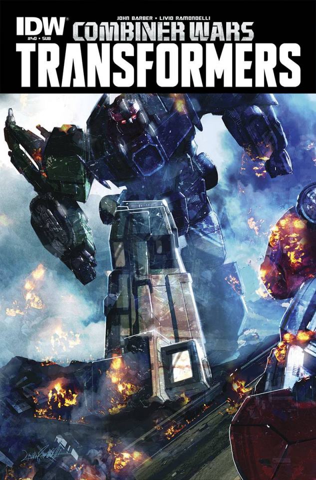 The Transformers #40 (Subscription Cover)