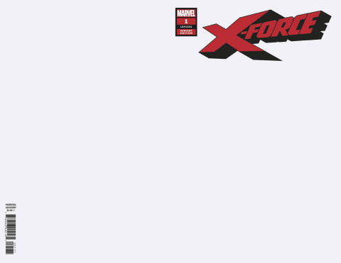 X-Force #1 (Blank Cover)