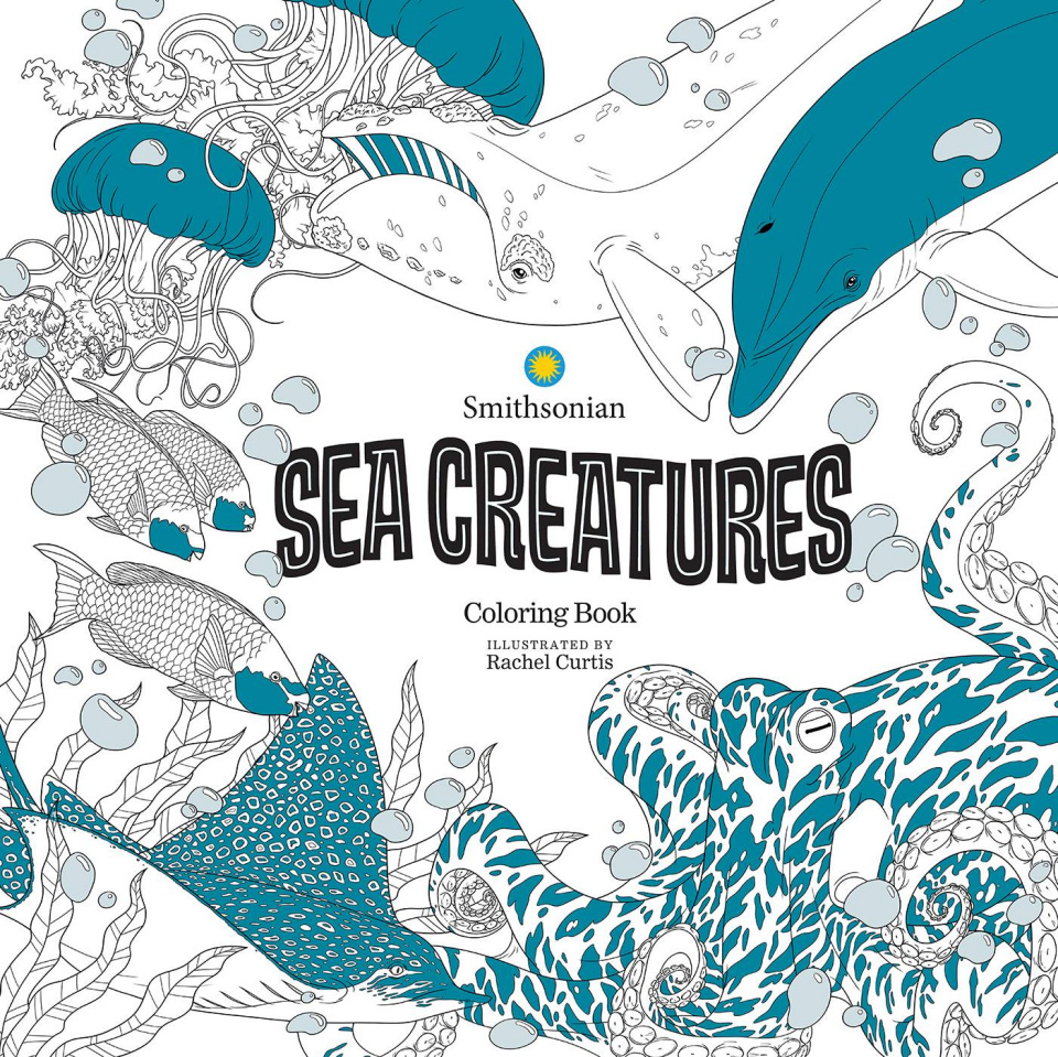 Sea Creatures: A Smithsonian Coloring Book