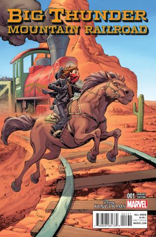 Big Thunder Mountain Railroad #1 (Raney Cover)