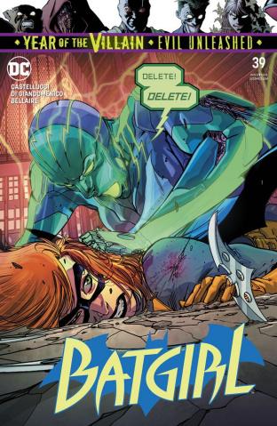 Batgirl #39 (Year of the Villian)