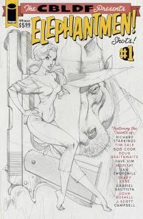 Liberty Comics Presents Elephantmen Shots! #1 (25 Copy Campbell Cover)