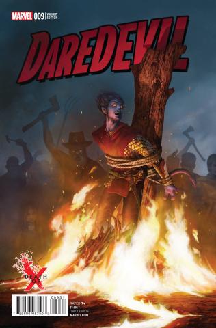 Daredevil #9 (Death of X Cover)