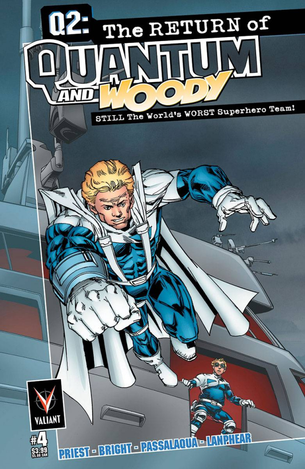 Q2: The Return of Quantum & Woody #4 (Bright Cover)