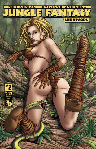 Jungle Fantasy: Survivors #2 (Lucious Cover)
