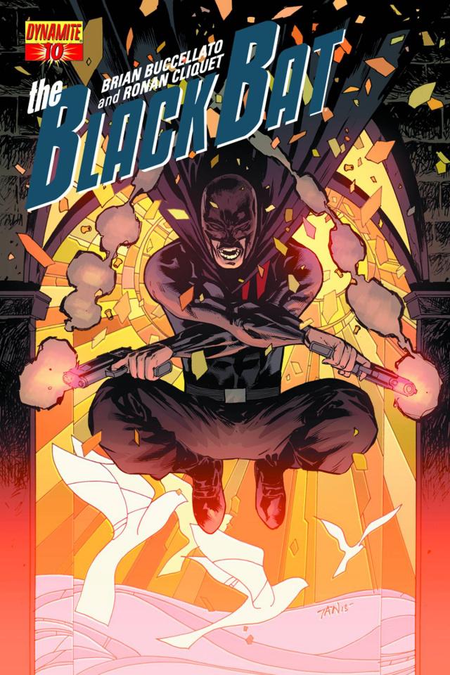 The Black Bat #10 (Tan Cover)