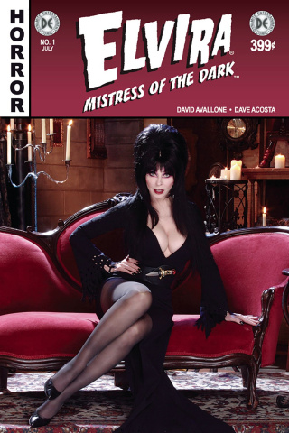 Elvira: Mistress of the Dark #1 (Signed Photo Cover)