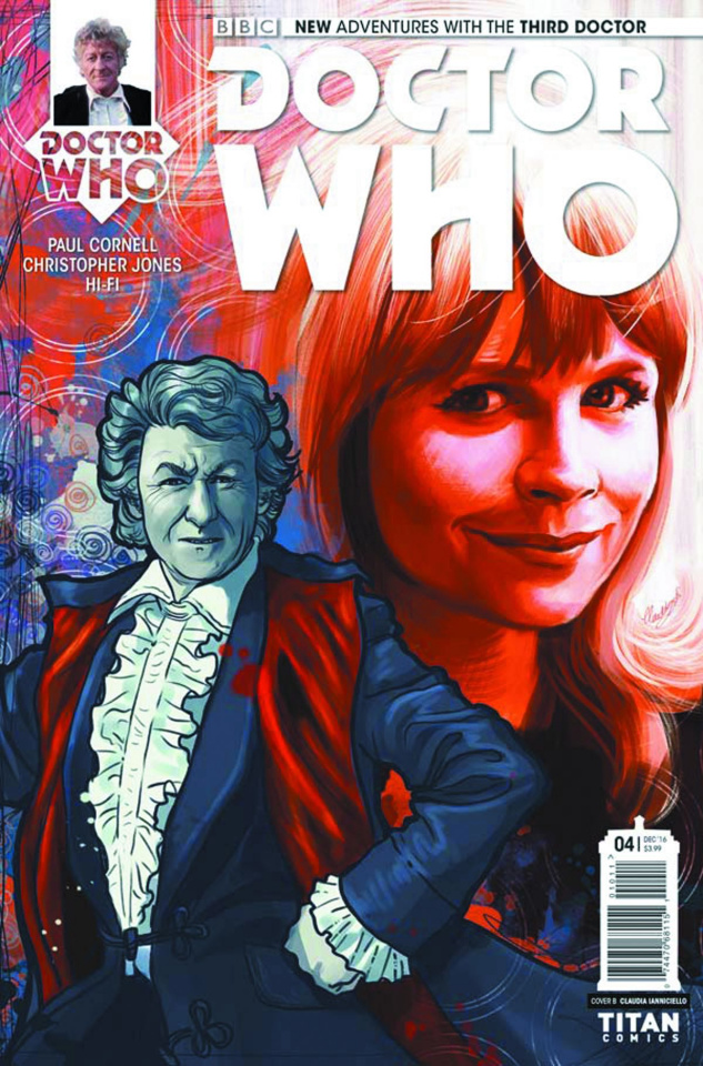 Doctor Who: New Adventures with the Third Doctor #4 (Ianniciello Cover)