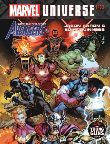 Marvel Universe Magazine #1