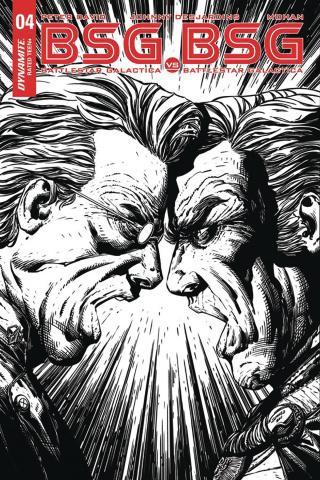 BSG vs. BSG #4 (20 Copy Desjardins B&W Cover)