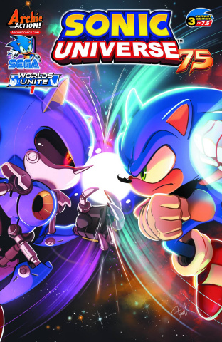 Sonic Universe #75 (Hesse Cover)