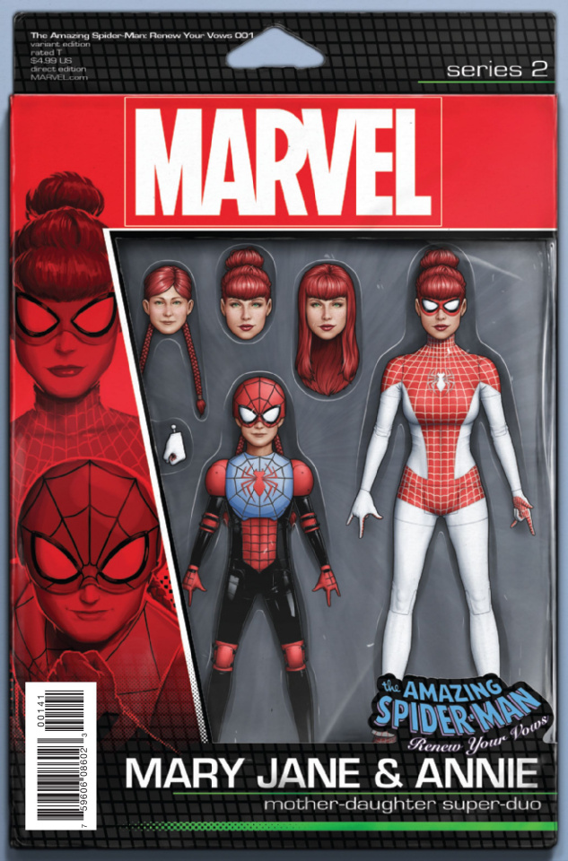 The Amazing Spider-Man: Renew Your Vows #1 (Christopher Action Figure Cover)